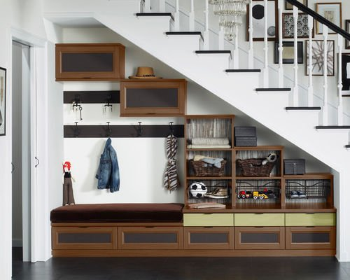 Ideas on how to Make the Most of the Space Under the Stairs