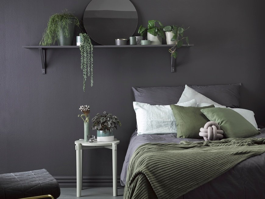 Enjoy the darker side of your rooms